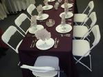Rentals, Tables, Chairs, Linens, Finger Lakes, New York, Pennsylvania
